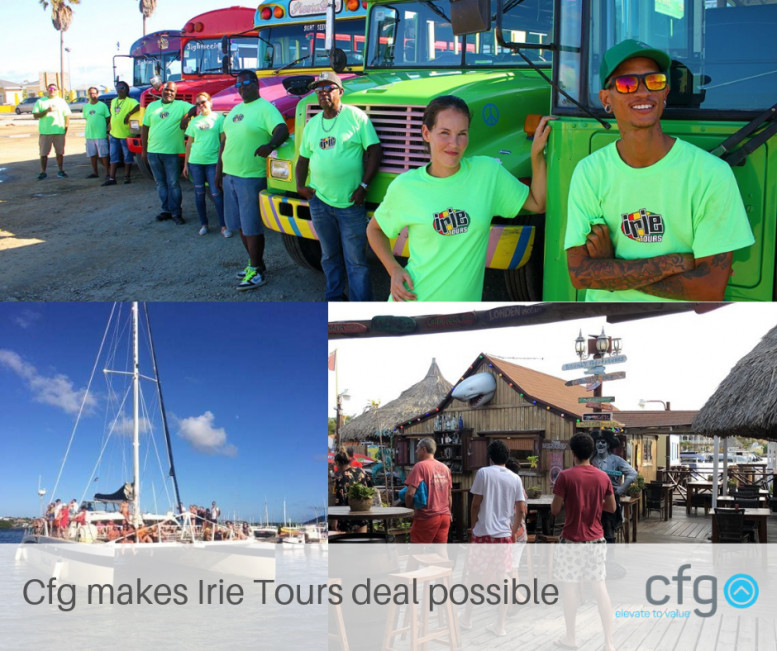 Cfg makes Irie Tours deal possible!